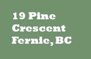 19 Pine Crescent